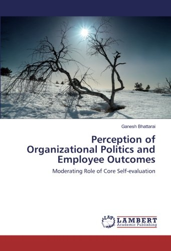 Perception of Organizational Politics and Employee Outcomes: Moderating Role of Core ...