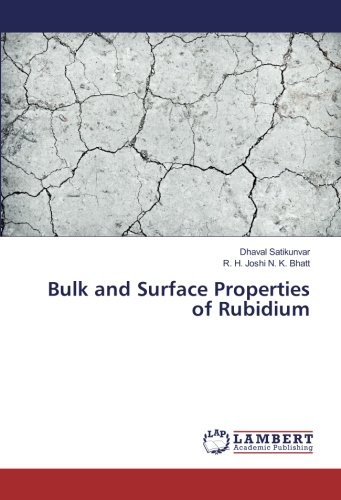 Bulk and Surface Properties of Rubidium (Paperback): Dhaval Satikunvar, R.