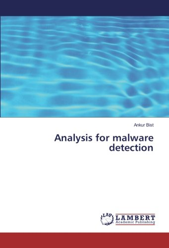 Analysis for malware detection (Paperback)