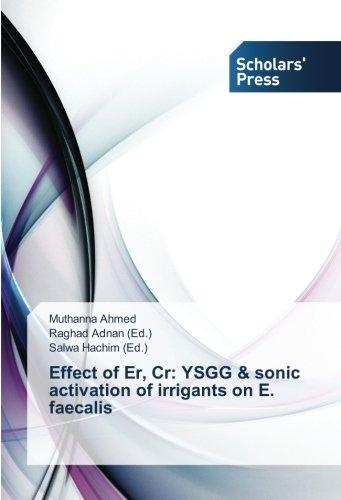 Effect of Er, Cr: YSGG & sonic: Ahmed, Muthanna /