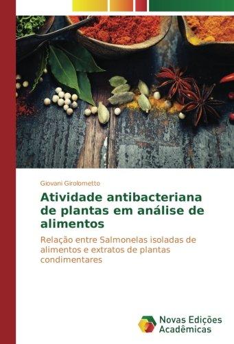 Atividade antibacteriana de plantas em análise de alimentos: Giovani Girolometto