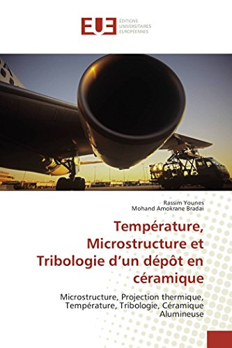 Température, Microstructure et Tribologie d?un dépôt en céramique: ...