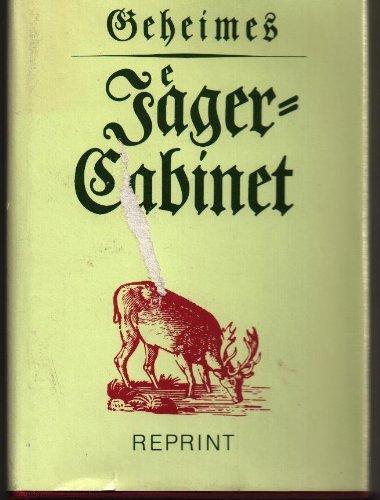 9783331004336: Geheimes Jäger-Cabinet