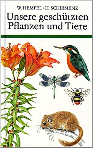 9783332003277: Unsere geschützten Pflanzen und Tiere