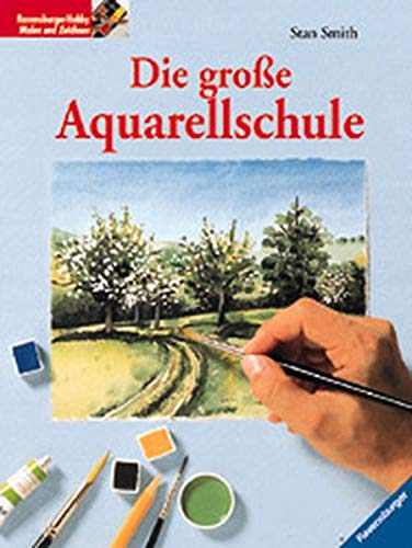 9783332009453: Die große Aquarellschule.
