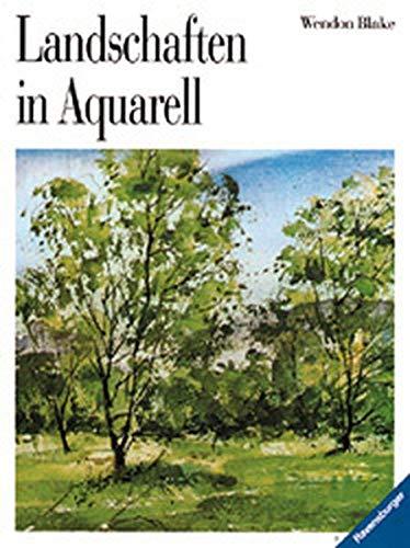 9783332009590: Landschaften in Aquarell