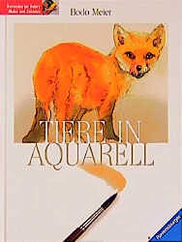 9783332010671: Tiere in Aquarell.