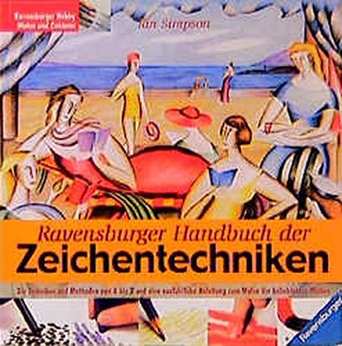 9783332010770: Ravensburger Handbuch der Zeichentechniken.