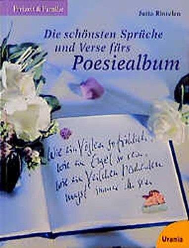 Schönsten Verse Sprüche Poesiealbum Zvab