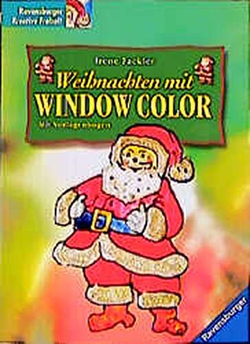 9783332011630: Weihnachten mit Window Color.