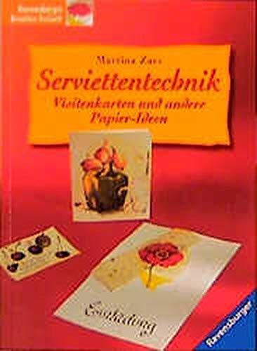 9783332012286 Serviettentechnik Visitenkarten Und Andere