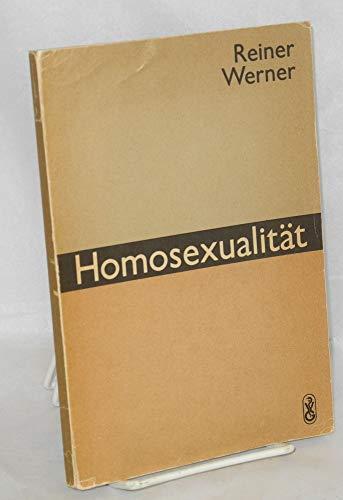9783333001586: Homosexualität