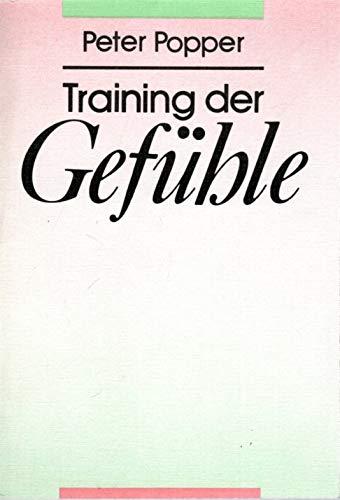 9783333003542: Training der Gefühle