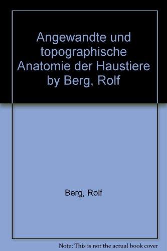 Angewandte Topographische Anatomie - AbeBooks