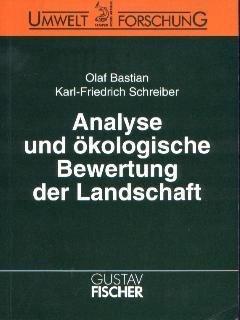 9783334605349: Analyse und ökologische Bewertung der Landschaft