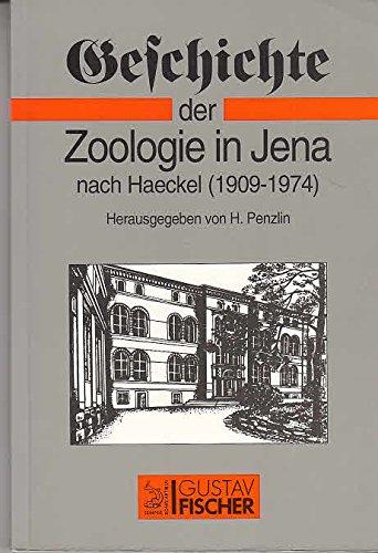 9783334608357: Geschichte der Zoologie in Jena nach Haeckel (1909-1974)