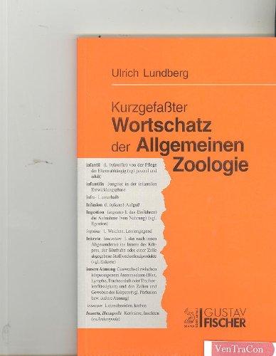 9783334610190: Kurzgefasster Wortschatz der Allgemeinen Zoologie (German Edition)