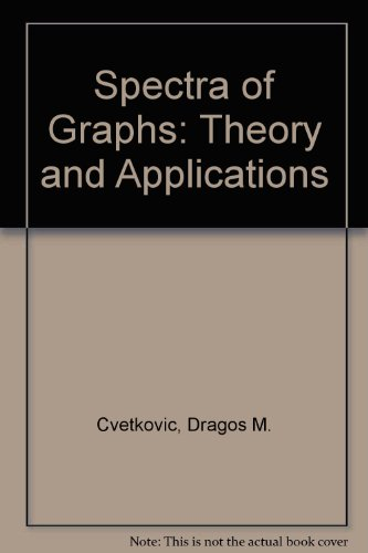 9783335004073: Spectra of Graphs: Theory and Applications