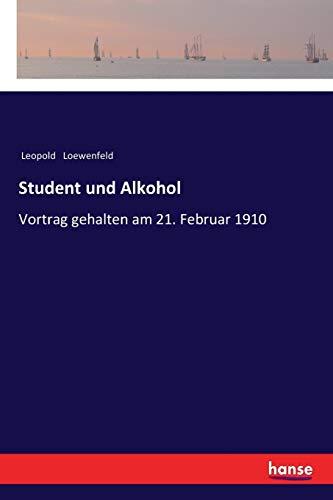 Student und Alkohol: Loewenfeld, Leopold