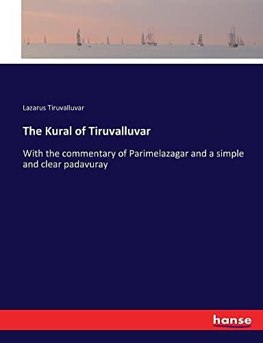 9783337283612: The Kural of Tiruvalluvar