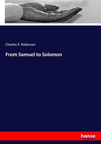 9783337318505: From Samuel to Solomon