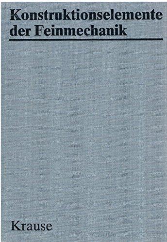 9783341004616: Konstruktionselemente der Feinmechanik.