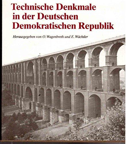 9783342002383: Technische Denkmale in der Deutschen Demokratisch . 1989en Republik