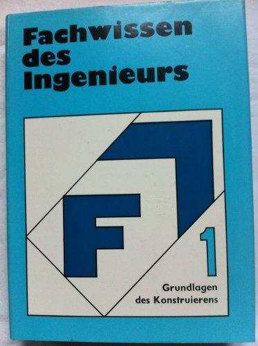 9783343000128: Grundlagen des Konstruierens, Bd 1