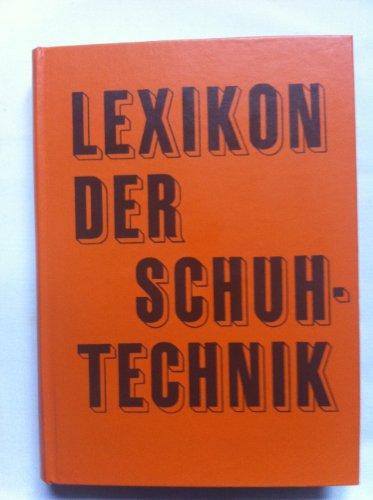 9783343003716: Lexikon der Schuhtechnik