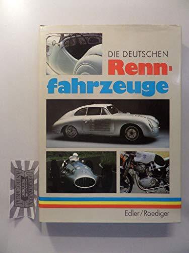 9783343004355: Die deutschen Rennfahrzeuge