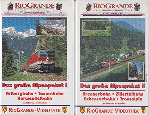 9783344721701: Das große Alpenpaket, 1 Videocassette [VHS] - Import Allemagne