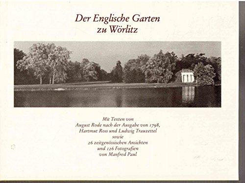 9783345001925: DER ENGLISCHE GARTEN ZU WORLITZ
