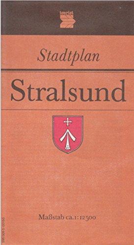 9783350000029: Stadtplan Stralsund, Massstab ca. 1:12 500