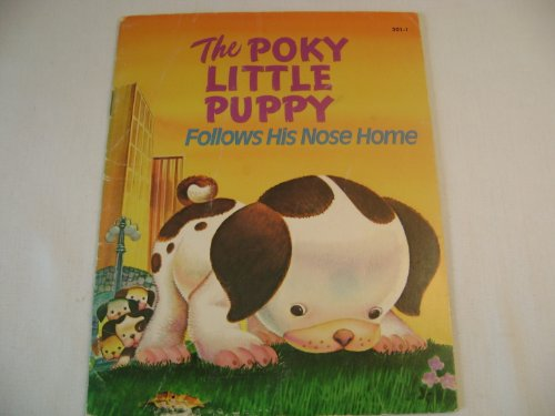 9783350092550: The poky little puppy follows his nose home