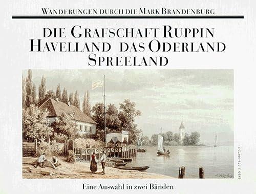 9783351000721: Wanderungen durch die Mark Brandenburg. Eine Auswahl in zwei Bänden.