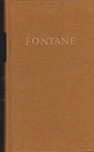9783351000769: Fontanes Werke, 5 Bde