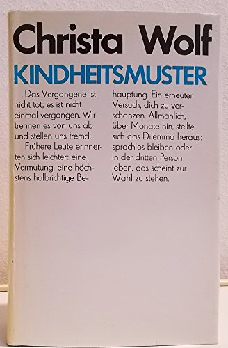 9783351003944: Kindheitsmuster