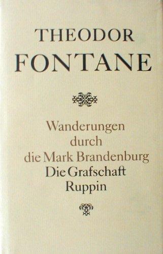 9783351004552: Wanderungen durch die Mark Brandenburg: Band 1, Die Grafschaft Ruppin