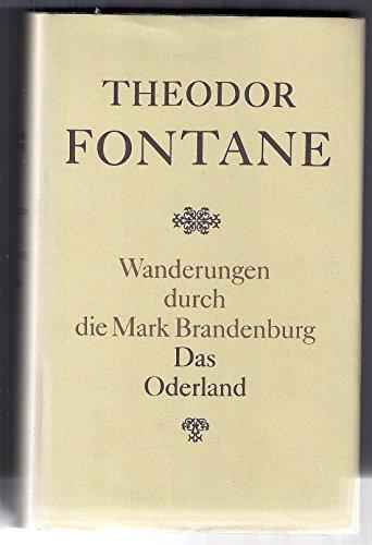 9783351004569: Wanderungen durch die Mark Brandenburg: Band 2, Der Oderland