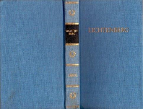 9783351011055: Lichtenbergs Werke in einem Band