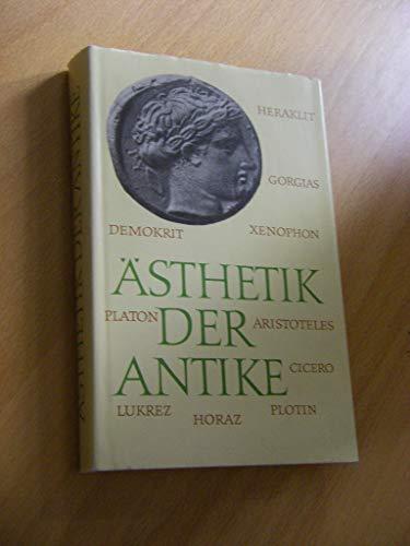 9783351013479: �sthetik der Antike