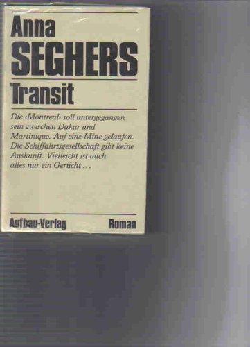 9783351020897: Transit. Roman
