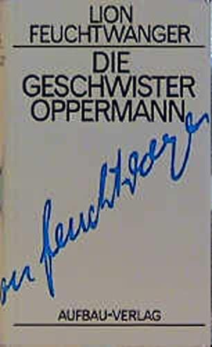 9783351022075: Die Geschwister Oppermann.