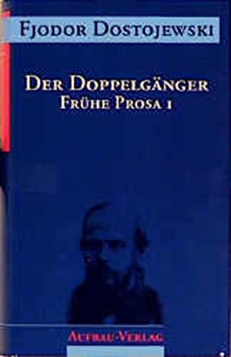 9783351023010: Sämtliche Romane und Erzählungen, 13 Bde., Der Doppelgänger