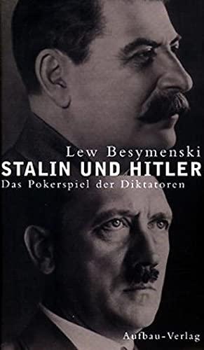 Stalin und Hitler, das Pokerspiel der Diktatoren * mit O r i g i n a l - S c h u t z u m s c h l a ...