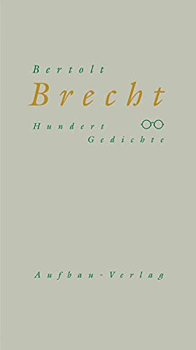 9783351029593 Hundert Gedichte 1918 1950 Abebooks
