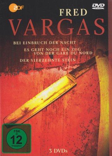 9783351032876: Die Fred Vargas DVD Box: Bei Einbruch der Nacht / Es geht noch ein Zug von Gare du Nord / Der vierzehnte Stein [Alemania]