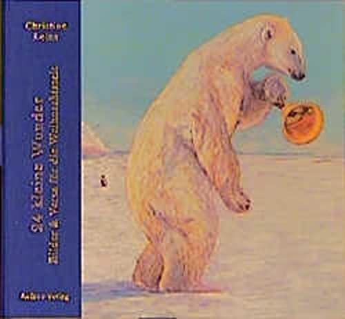 24 kleine Wunder: Bilder und Verse für die Weihnachtszeit - Leins, Christine und Donna Bee