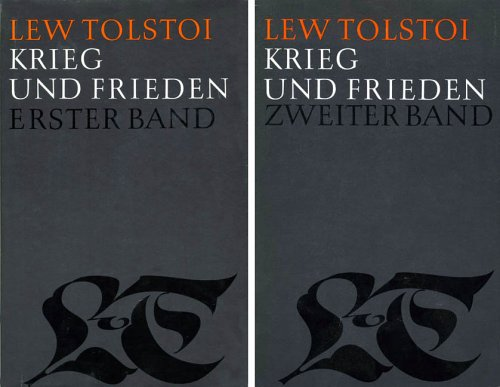 9783352001284: Krieg und Frieden, Bd 4 u. 5