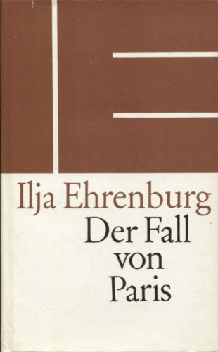 Der Fall von Paris (3353002707) by Ehrenburg, Ilja